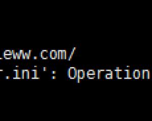宝塔用户安装xunseacrh失败注意文件引入权限文件(.user.ini)